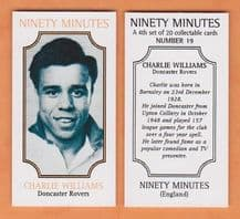Doncaster Rovers Charlie Williams 19 (NM4)