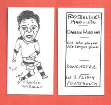 Doncaster Rovers Charlie Williams 965