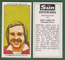 Doncaster Rovers Joe Laidlaw