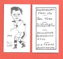 Doncaster Rovers Paul Todd 899