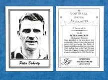 Doncaster Rovers Peter Doherty 10 (5) ***