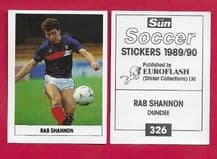 Dundee Rab Shannon 326