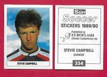 Dundee Stevie Campbell 334
