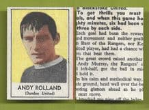 Dundee United Andy Rolland 1969