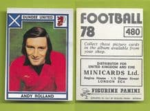 Dundee United Andy Rolland 480