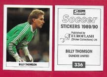 Dundee United Billy Thomson 336