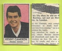 Dundee United Kenny Cameron 1969