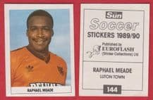 Dundee United Raphael Meade Luton Town 144