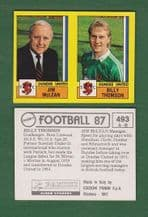 Dundee United Team Jim McLean & Billy Thomson 493
