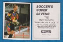 Dunfermline Athletic Andy Rhodes 183