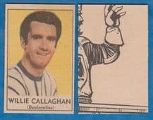 Dunfermline Athletic Willie Callaghan 1970