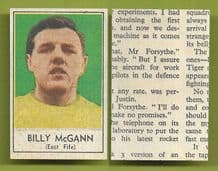 East Fife Billy McGann 1969