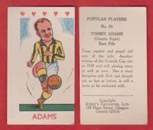 East Fife Tommy Adams
