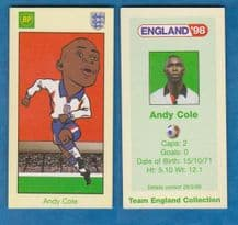 England Andy Cole Manchester United (BP)
