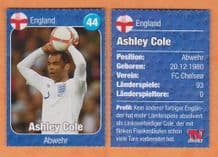 England Ashley Cole Chelsea 44