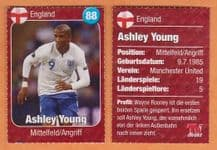 England Ashley Young Manchester United 88