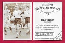 England Billy Wright Wolverhampton Wanderers 13