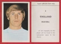 England Colin Bell Manchester City