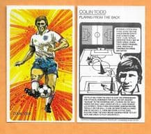 England Colin Todd Playing From the Back