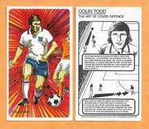 England Colin Todd The Art of Cover Defence