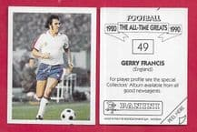 England Gerry Francis Queens Park Rangers 49