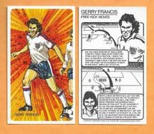 England Gerry Francis Queens Park Rangers Free Kick Moves