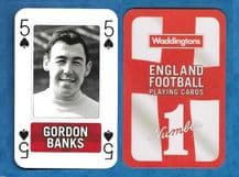 England Gordon Banks Stoke City 5S