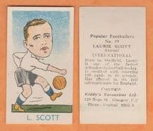 England Laurie Scott Arsenal