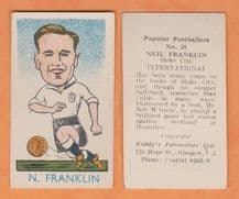 England Neil Franklin Stoke City
