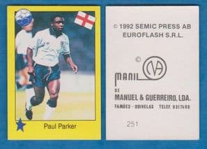 England Paul Parker Manchester United