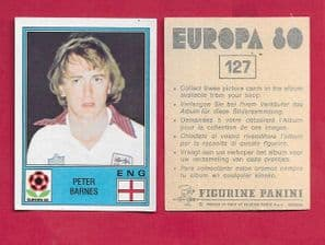 England Peter Barnes West Bromwich Albion 127
