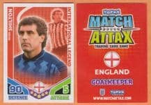England Peter Shilton Nottingham Forest International Legend