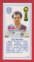 England Ray Wilkins Manchester United