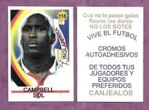 England Sol Campbell 116 Blue
