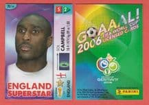 England Sol Campbell Arsenal 28 2006