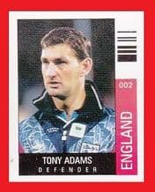England Tony Adams Arsenal