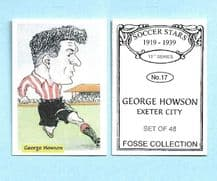 Exeter City George Howson 17 (FC)
