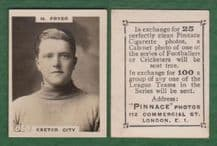 Exeter City Harry Fryer 858