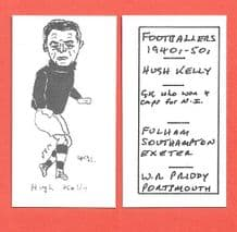 Exeter City Hugh Kelly 491
