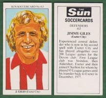 Exeter City Jimmy Giles