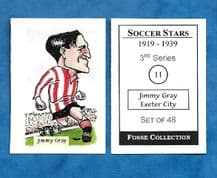 Exeter City Jimmy Gray 11 (FC)