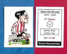 Exeter City Jimmy Gray 11 (FC) (R)