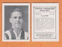 Exeter City Reginald Clarke 10