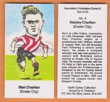 Exeter City Stan Charlton 6