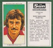 Exeter City Tony Kellow
