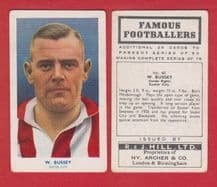 Exeter City Walter Bussey 60