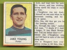 Forfar Athletic Jake Young 1969
