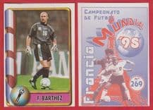 France Fabien Barthez Monaco