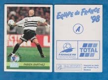 France Fabien Barthez Monaco A