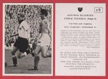 France v West Germany 1952 Gianessi Monaco Termath Rot Weiss Essen D11